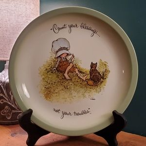 VTG Holly Hobbie Collector's Edition Plate
